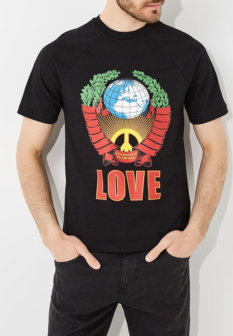 Футболка Love Moschino M 4 746 03 M 3876