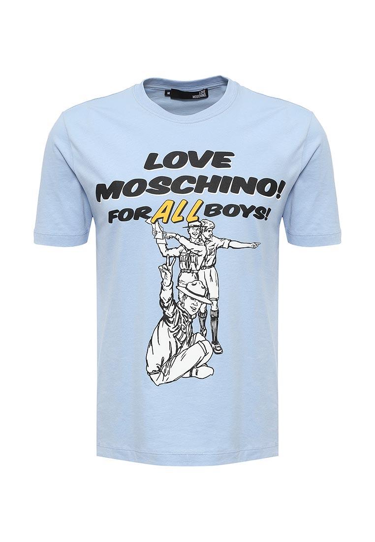 Футболка Love Moschino M 4 732 45 M 3702