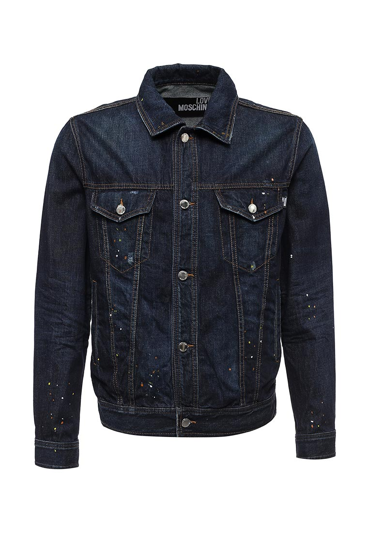 Джинсовая куртка Love Moschino M H 666 00 T 8901