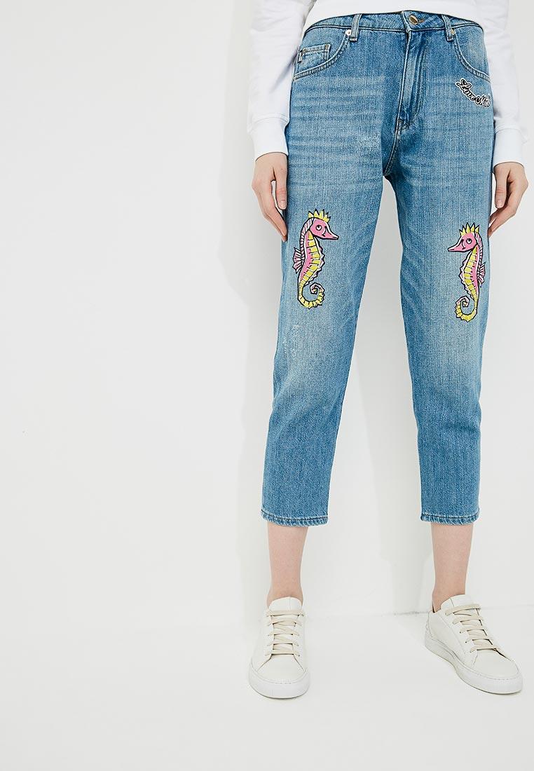 Зауженные джинсы Love Moschino W Q 381 09 T 7069