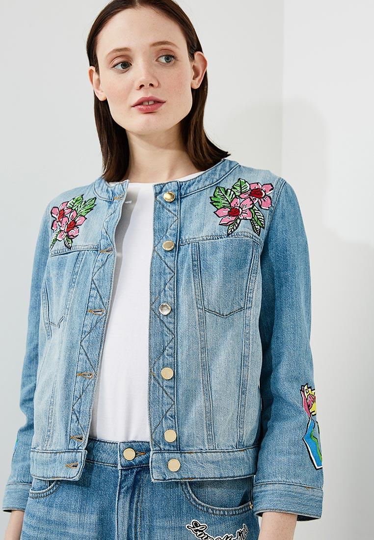 Джинсовая куртка Love Moschino W H 630 01 T 7069