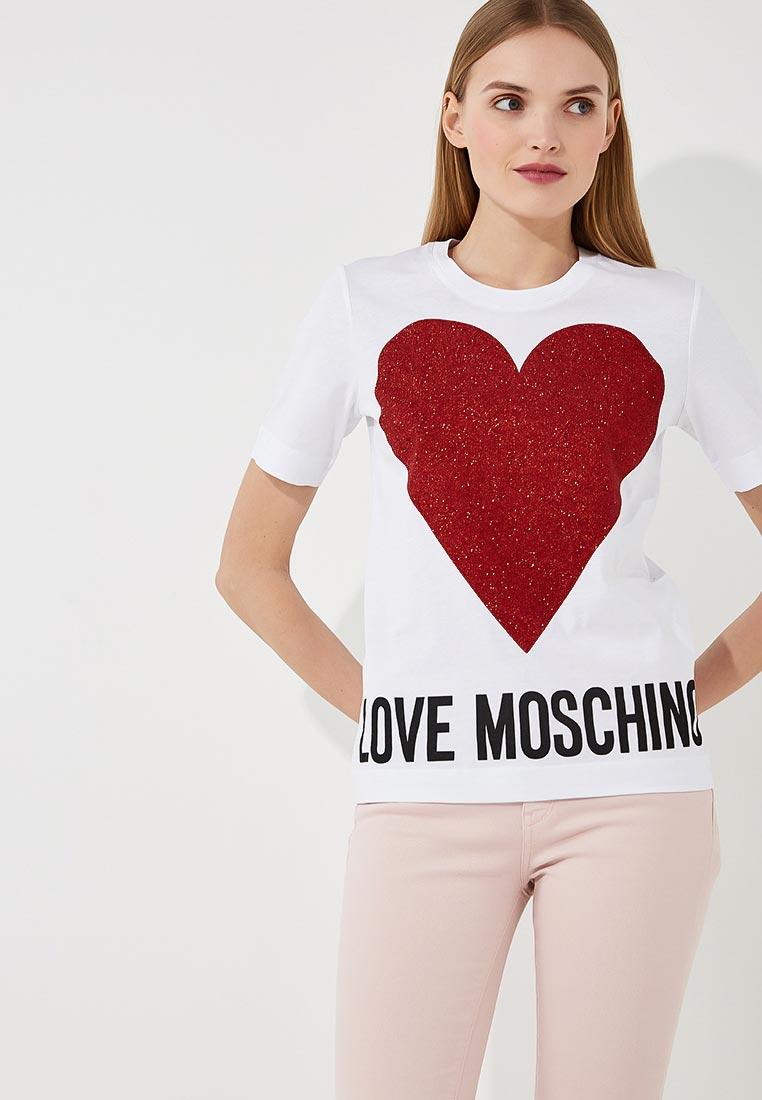 Футболка с коротким рукавом Love Moschino W 4 F15 57 M 3897