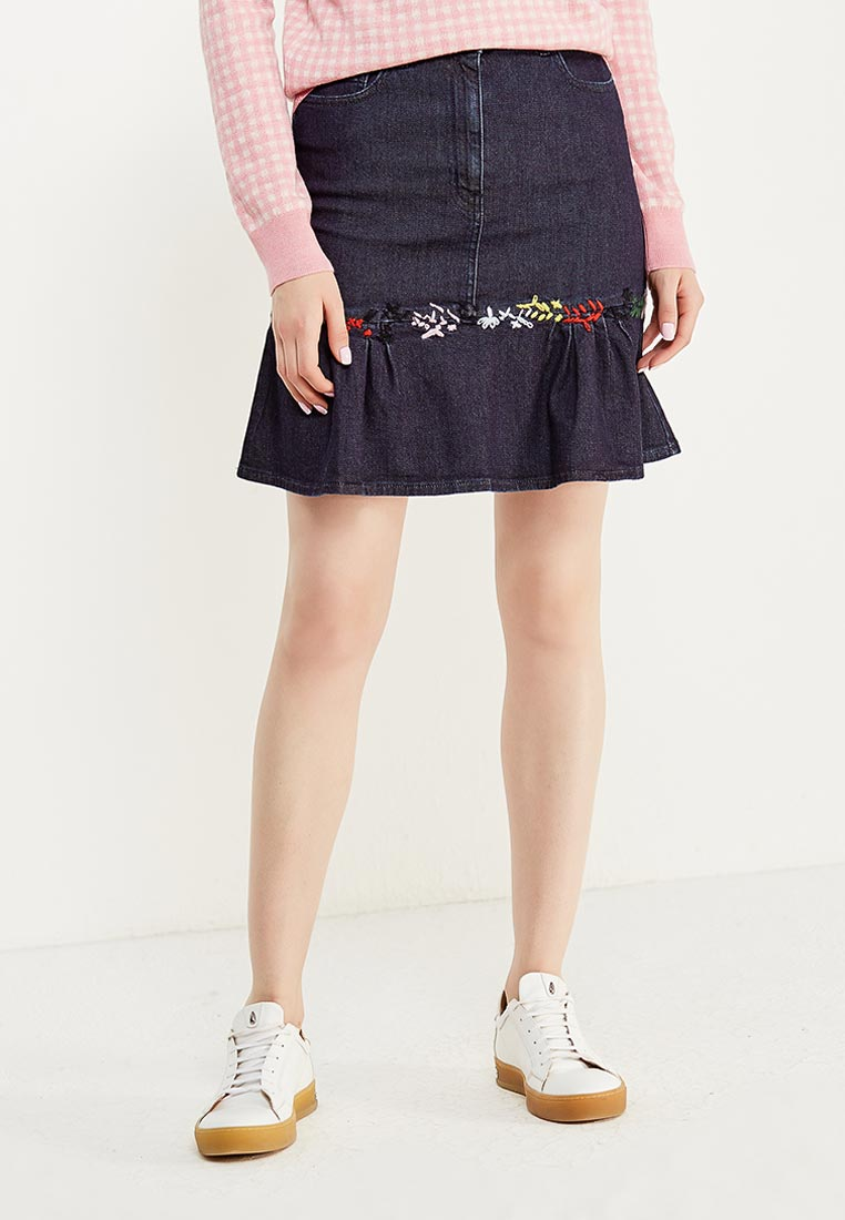 Джинсовая юбка Love Moschino W G D65 01 S 2883