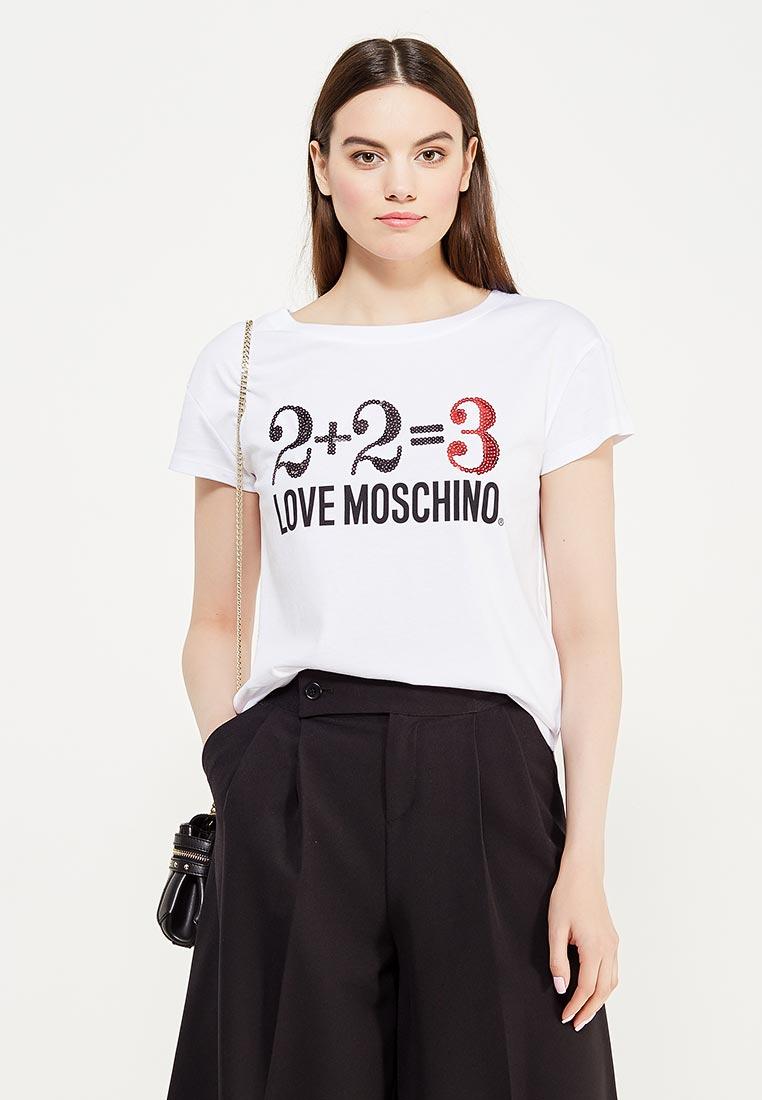 Футболка с коротким рукавом Love Moschino W 4 F30 39 M 3517