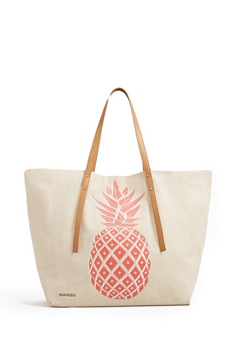 Пляжная сумка Mango (Манго) 84093544