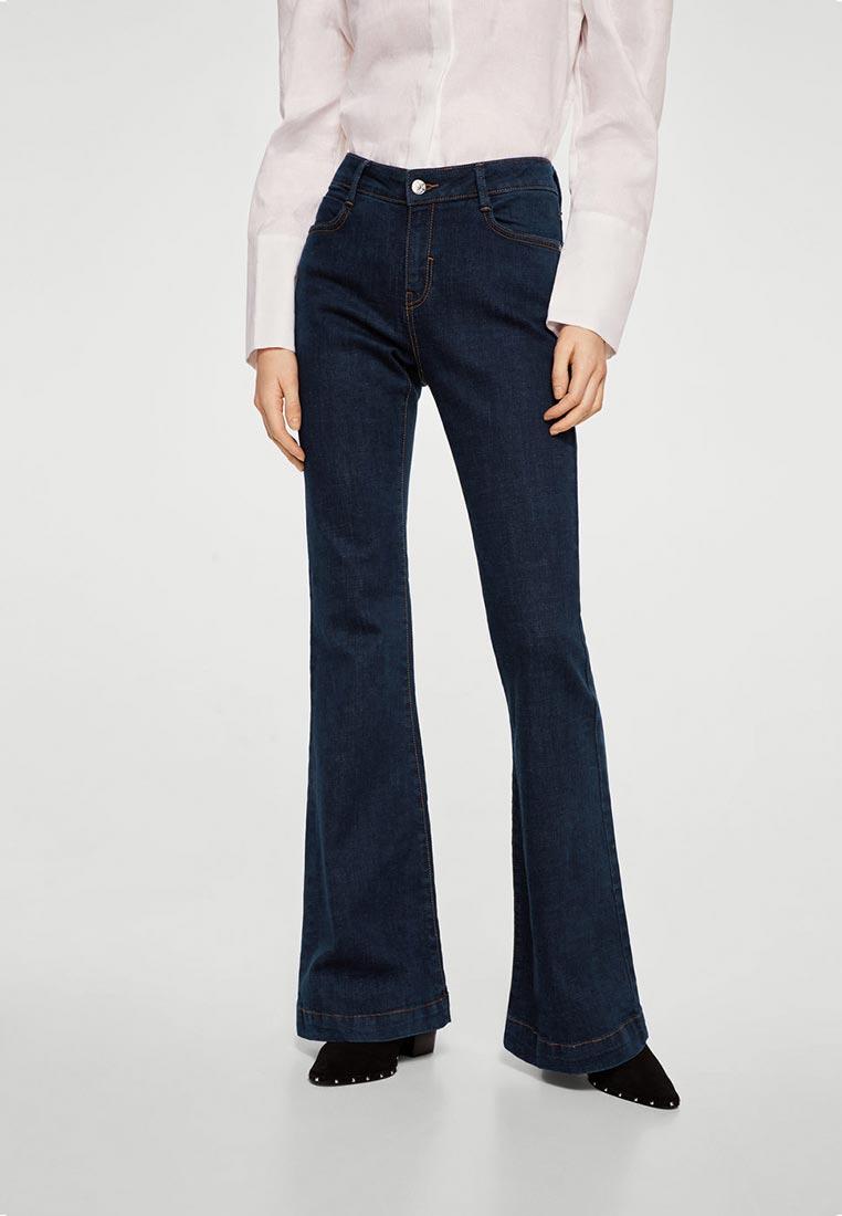 Широкие и расклешенные джинсы Mango (Манго) 23093627