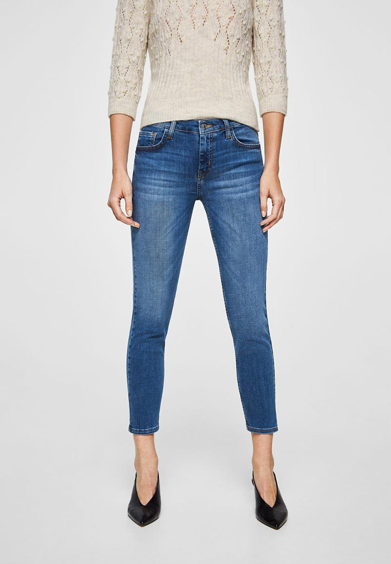 Зауженные джинсы Mango (Манго) 23043633