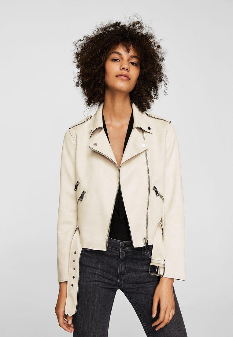 Кожаная куртка Mango (Манго) 23083034
