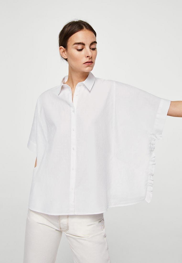 Рубашка с коротким рукавом Mango (Манго) 23073653