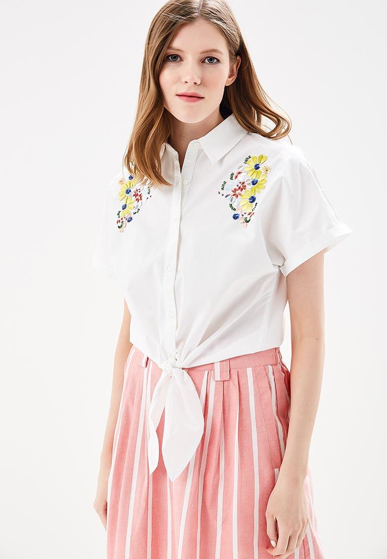 Рубашка с коротким рукавом Mango (Манго) 23053646