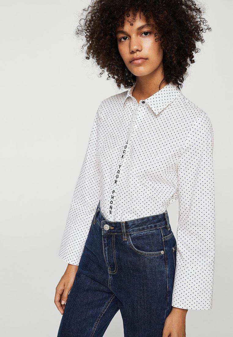 Женские рубашки с длинным рукавом Mango (Манго) 23010427
