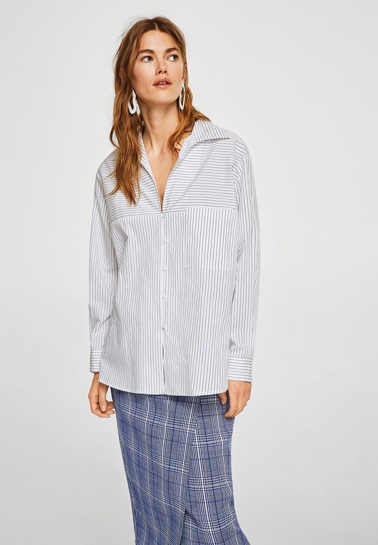Женские рубашки с длинным рукавом Mango (Манго) 21093686