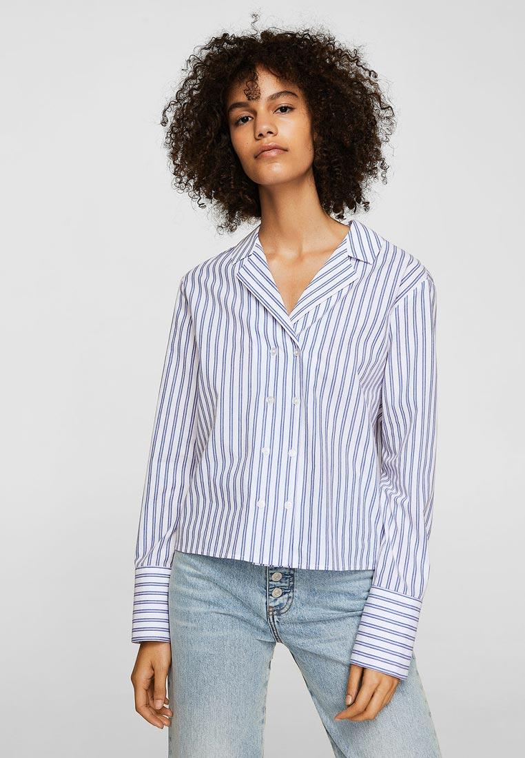 Женские рубашки с длинным рукавом Mango (Манго) 23073601