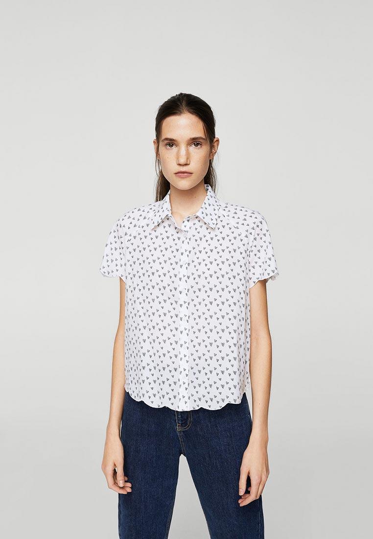 Рубашка с коротким рукавом Mango (Манго) 23910420
