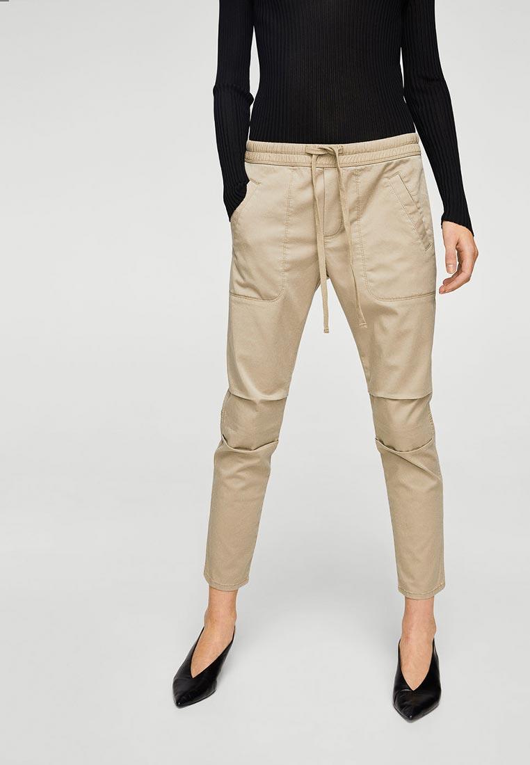 Женские зауженные брюки Mango (Манго) 23063027