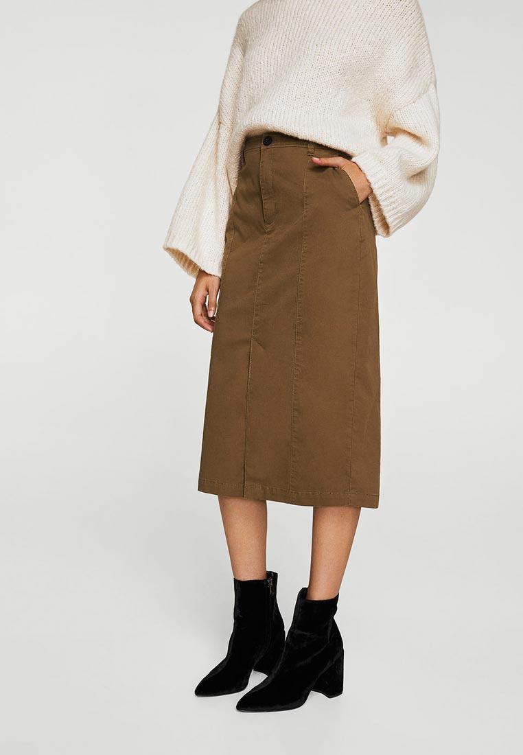 Прямая юбка Mango (Манго) 23030597