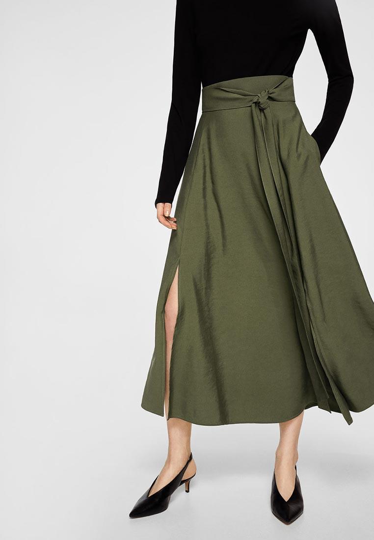 Широкая юбка Mango (Манго) 23060387