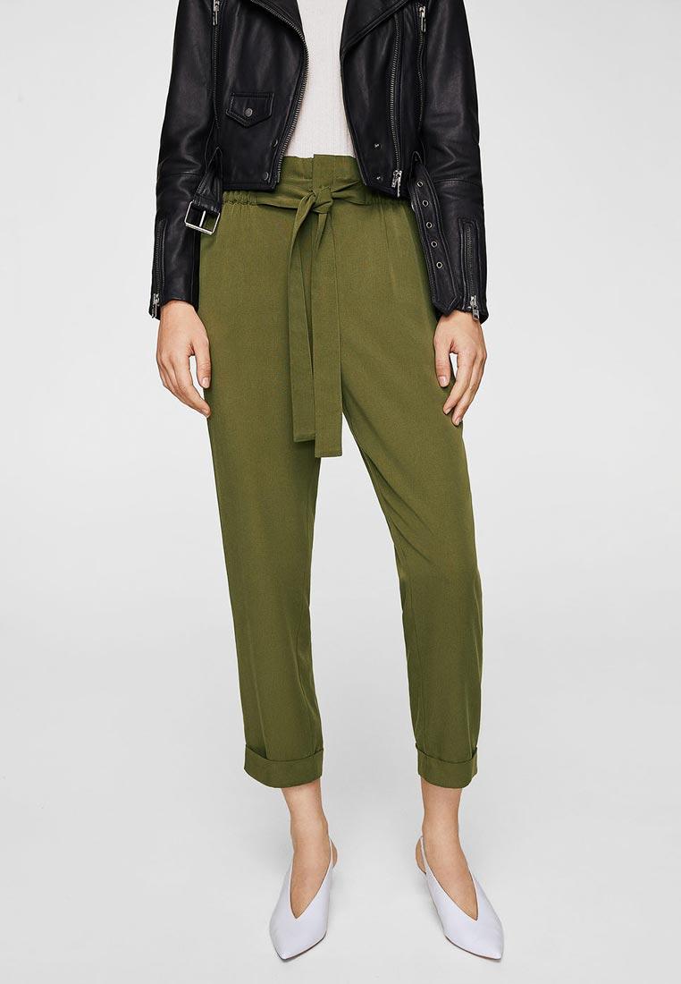 Женские зауженные брюки Mango (Манго) 23053612