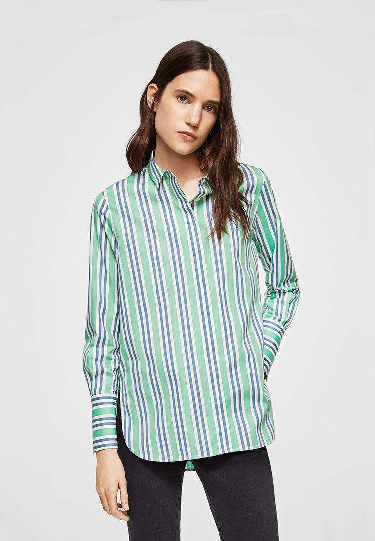 Женские рубашки с длинным рукавом Mango (Манго) 21035707