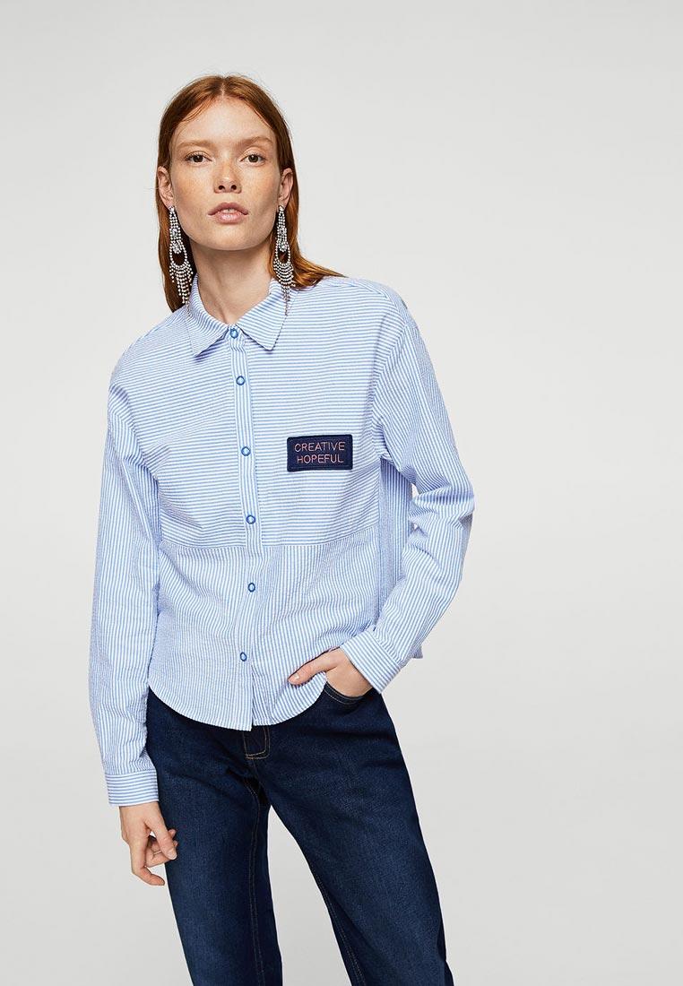 Женские рубашки с длинным рукавом Mango (Манго) 23040336