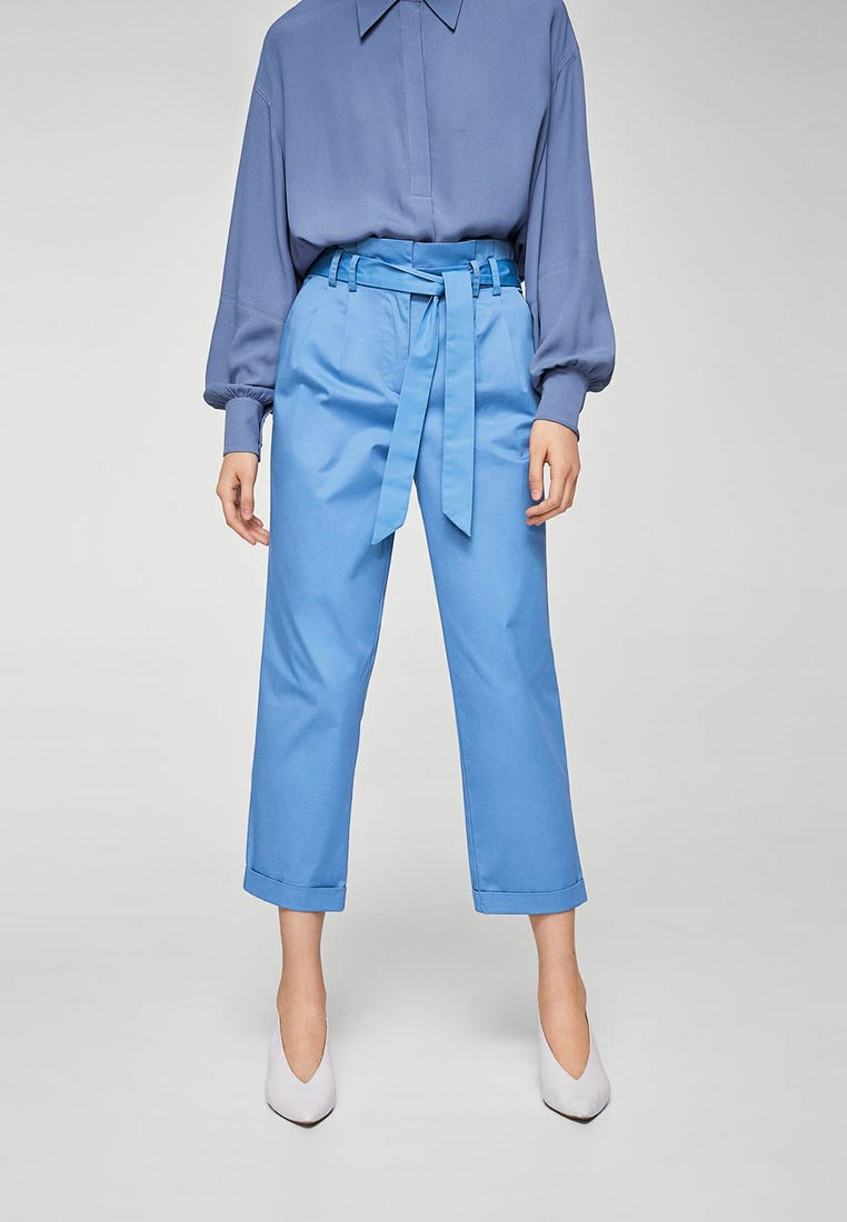 Женские прямые брюки Mango (Манго) 23085006