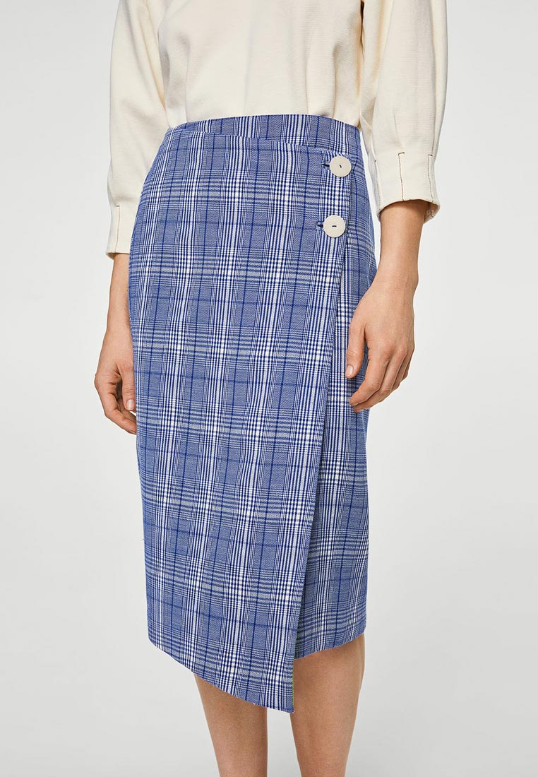 Прямая юбка Mango (Манго) 21043697