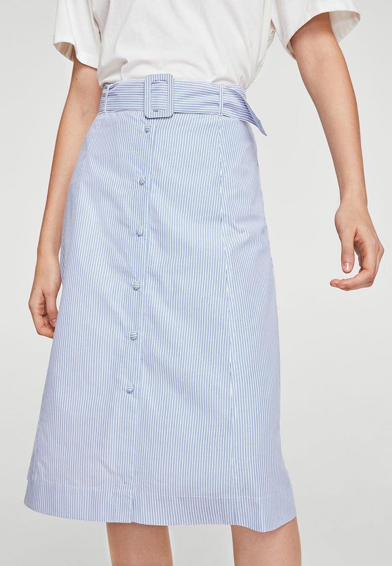 Широкая юбка Mango (Манго) 23083647