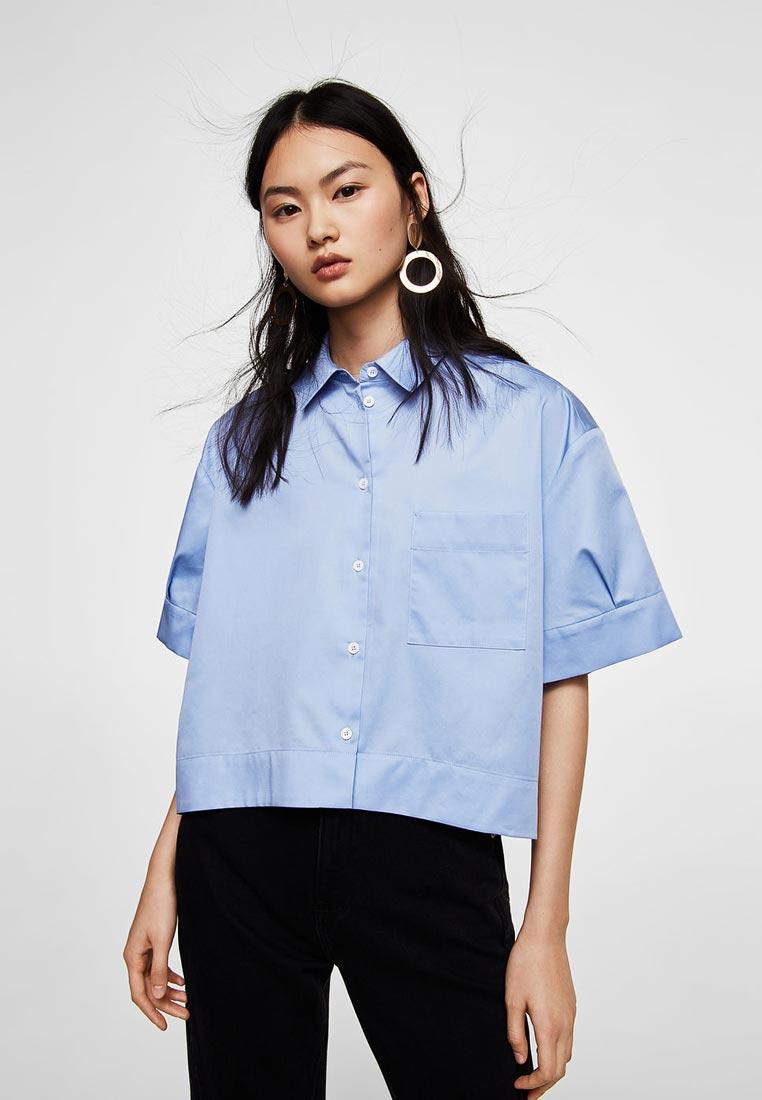 Рубашка с коротким рукавом Mango (Манго) 21035014