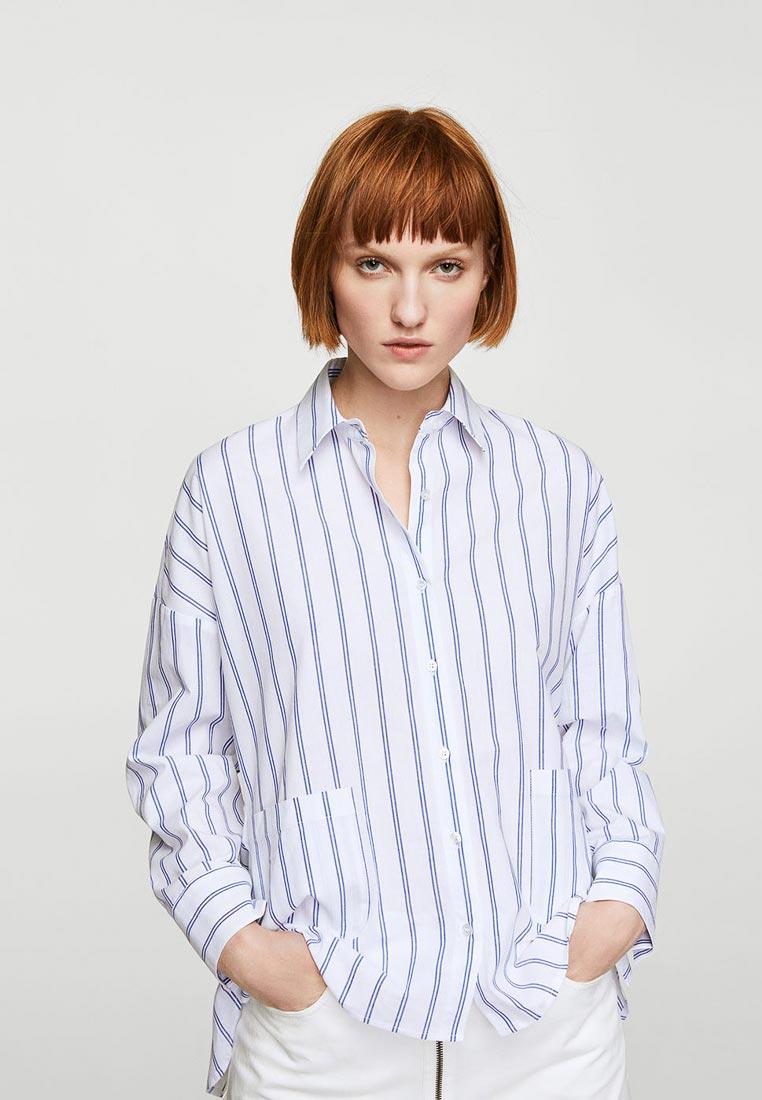 Женские рубашки с длинным рукавом Mango (Манго) 23020423