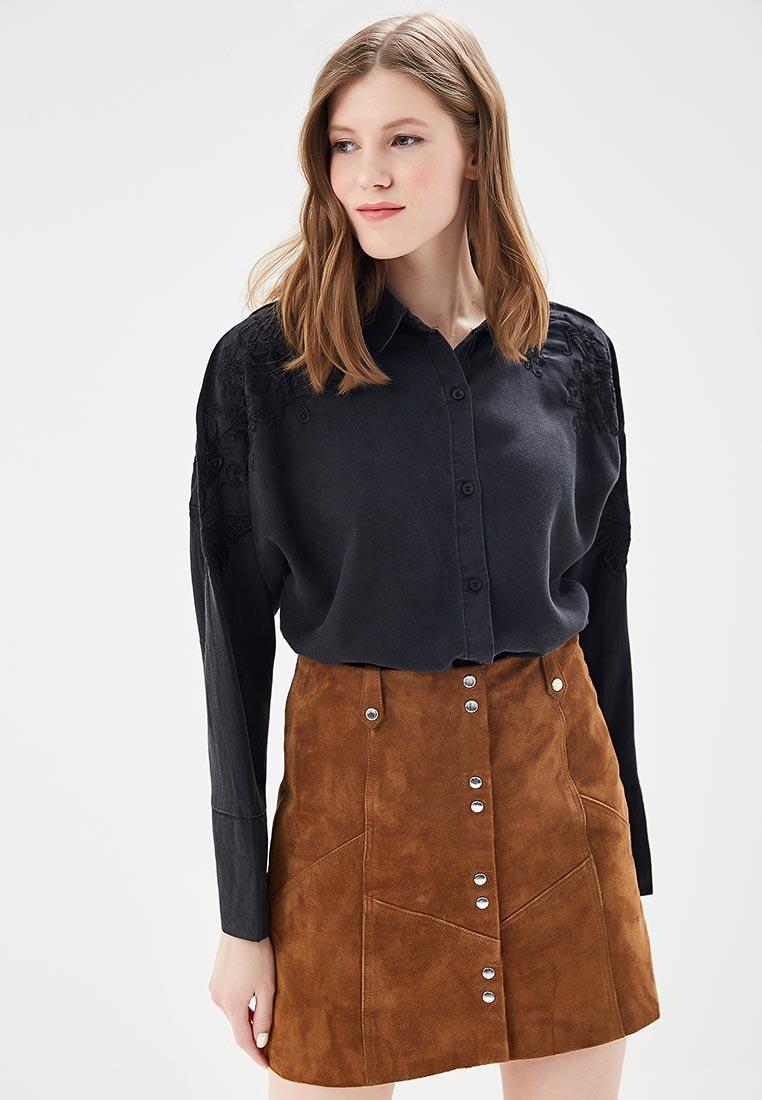 Женские рубашки с длинным рукавом Mango (Манго) 23010398