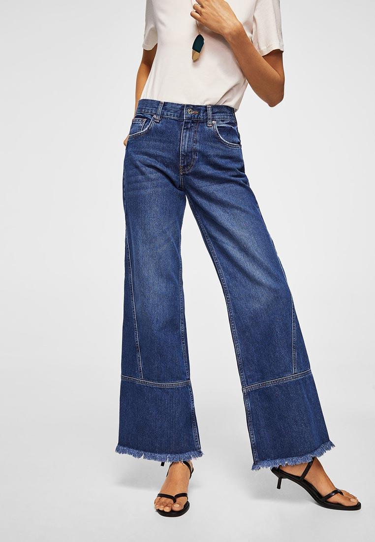 Широкие и расклешенные джинсы Mango (Манго) 23093675