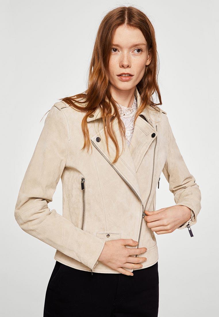 Кожаная куртка Mango (Манго) 23025725