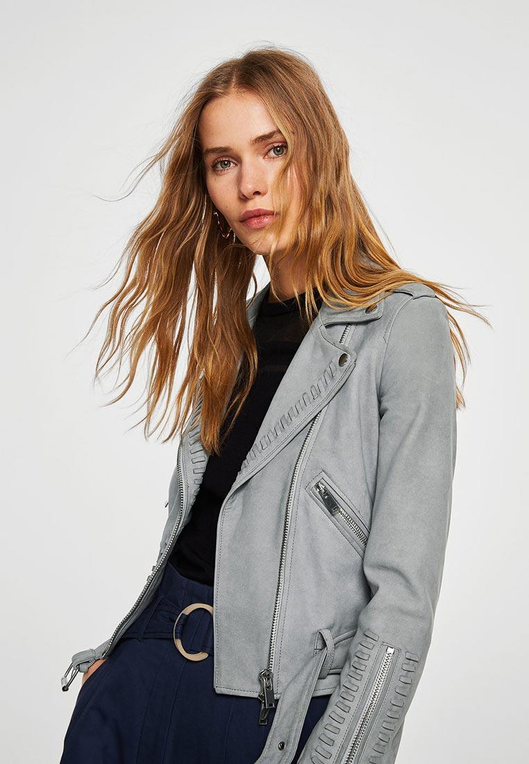 Кожаная куртка Mango (Манго) 23055625