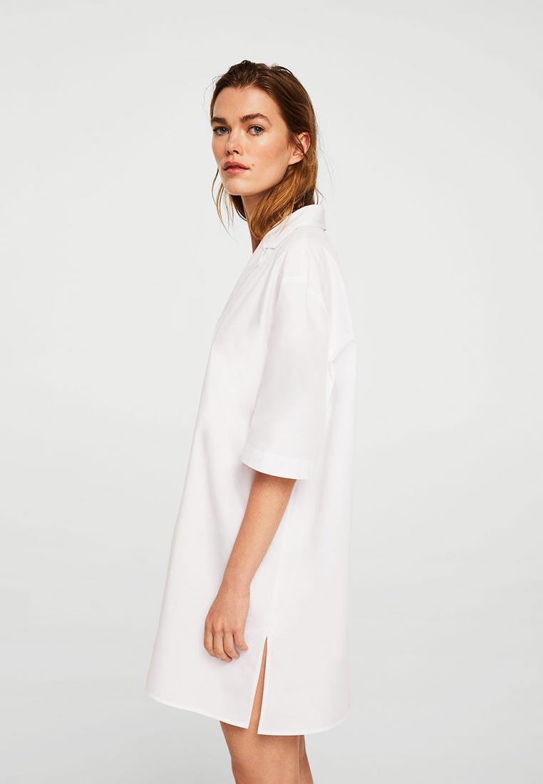 Рубашка с коротким рукавом Mango (Манго) 21047708