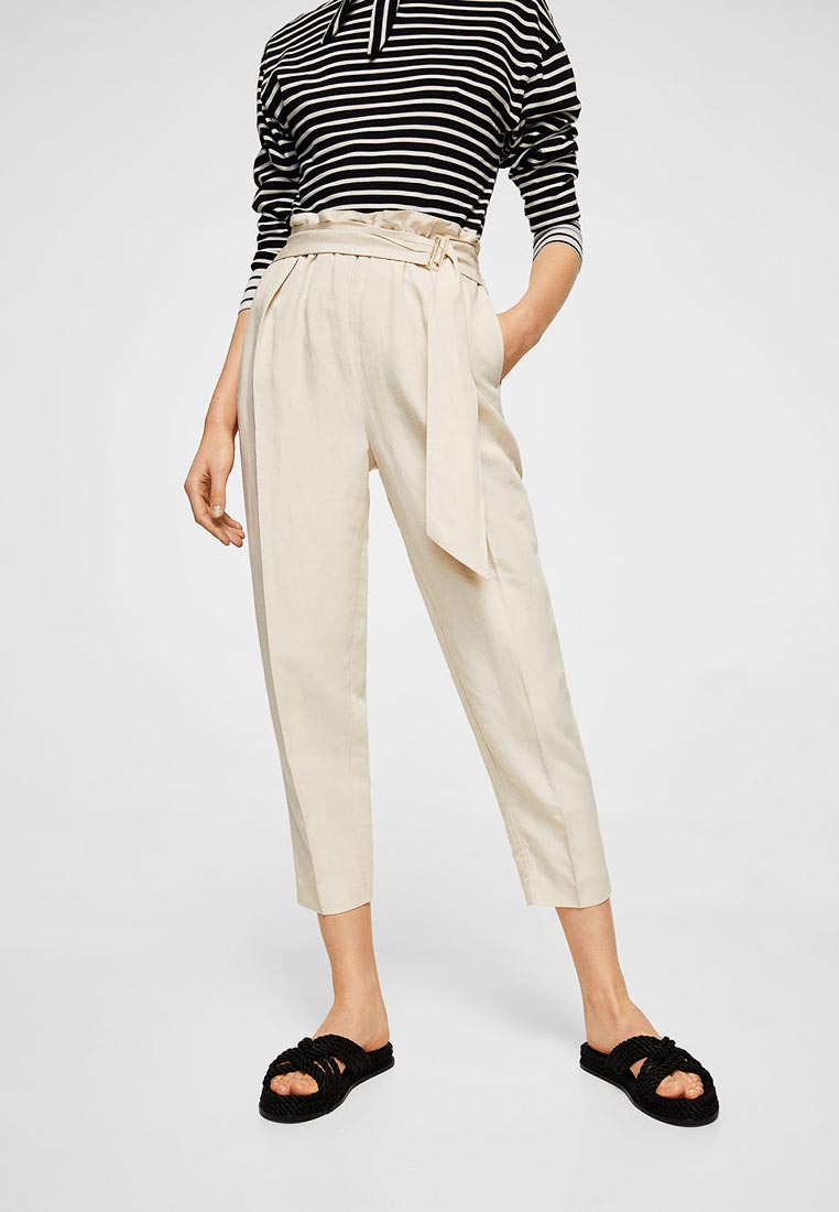 Женские зауженные брюки Mango (Манго) 21097645