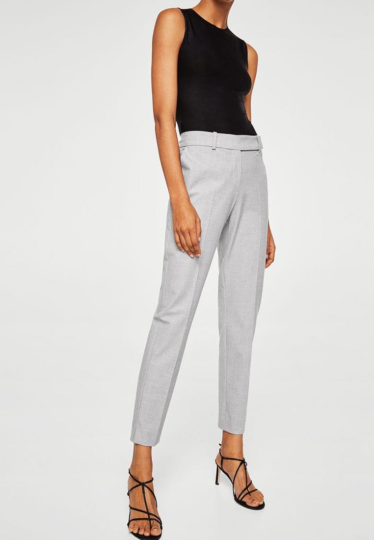 Женские зауженные брюки Mango (Манго) 21057706
