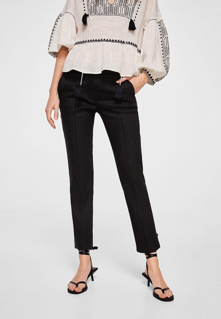 Женские зауженные брюки Mango (Манго) 23087626