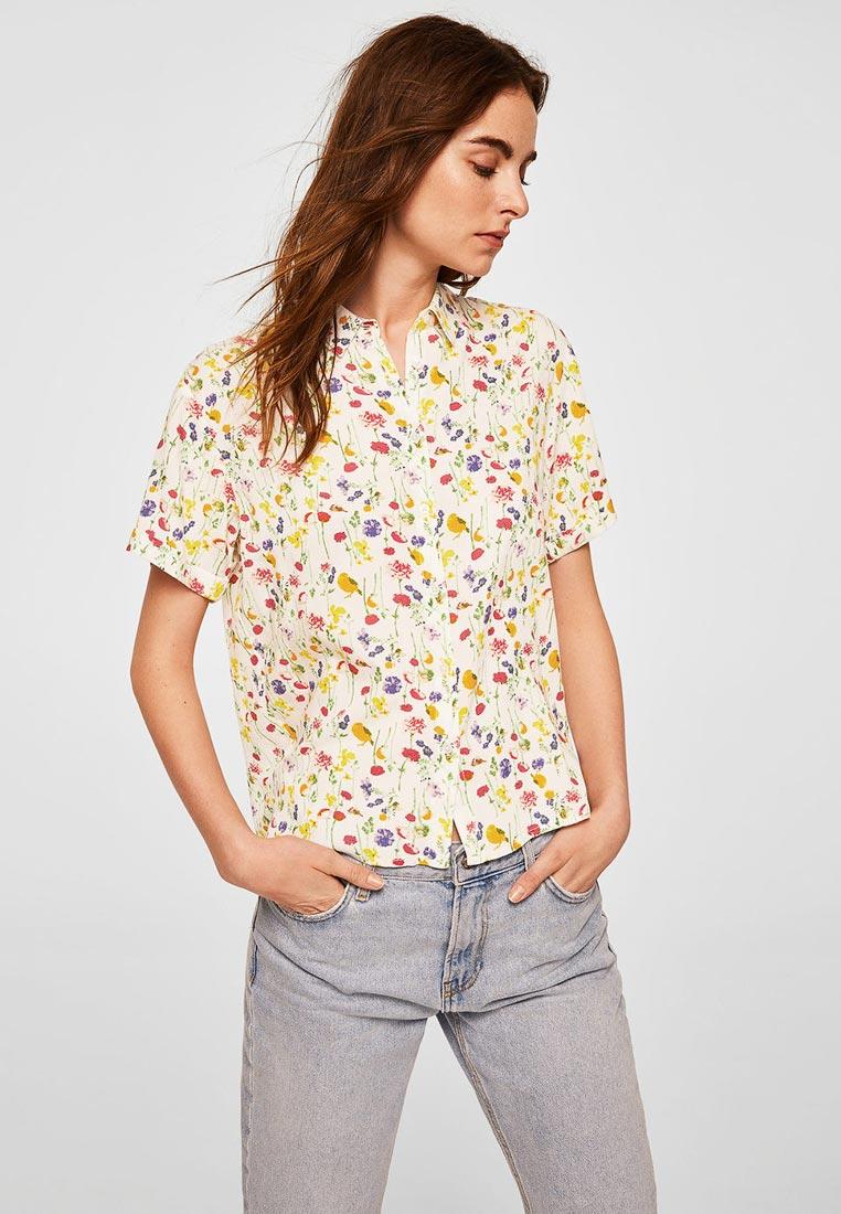 Рубашка с коротким рукавом Mango (Манго) 23028820