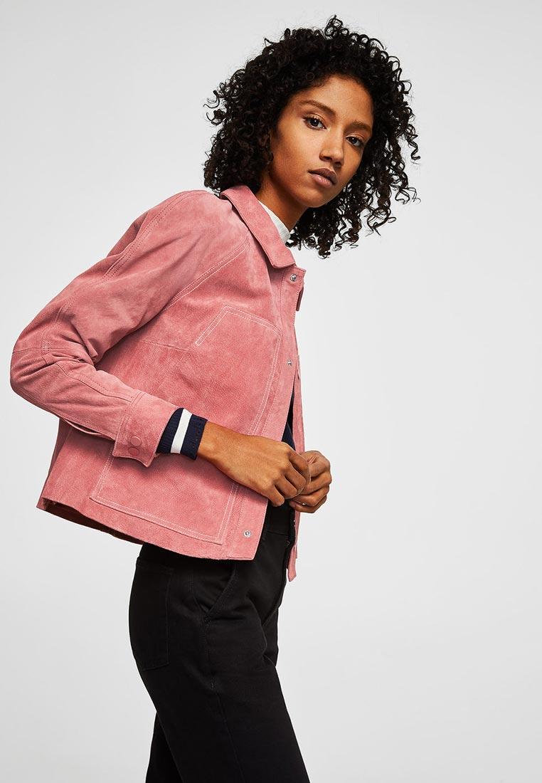 Кожаная куртка Mango (Манго) 23035724