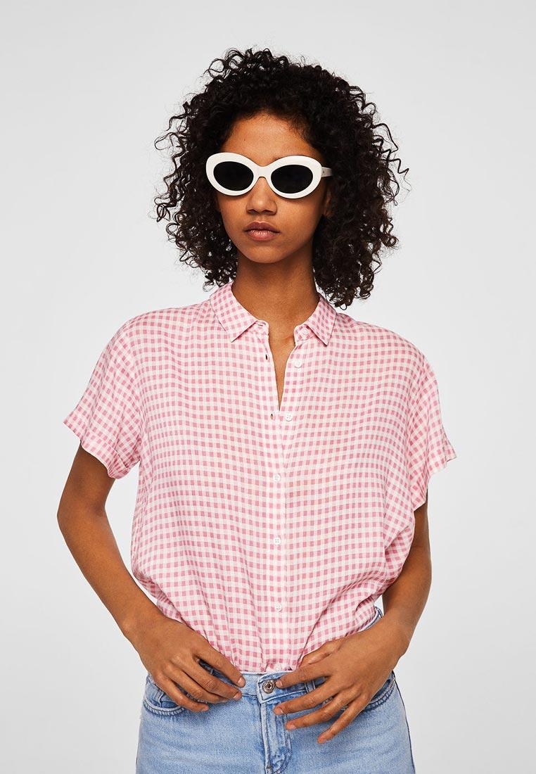 Рубашка с коротким рукавом Mango (Манго) 23928820
