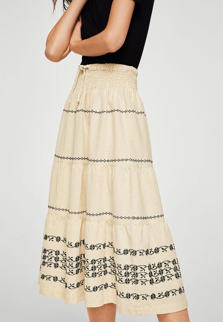 Широкая юбка Mango (Манго) 23095633