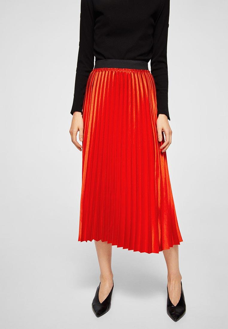 Широкая юбка Mango (Манго) 23075668