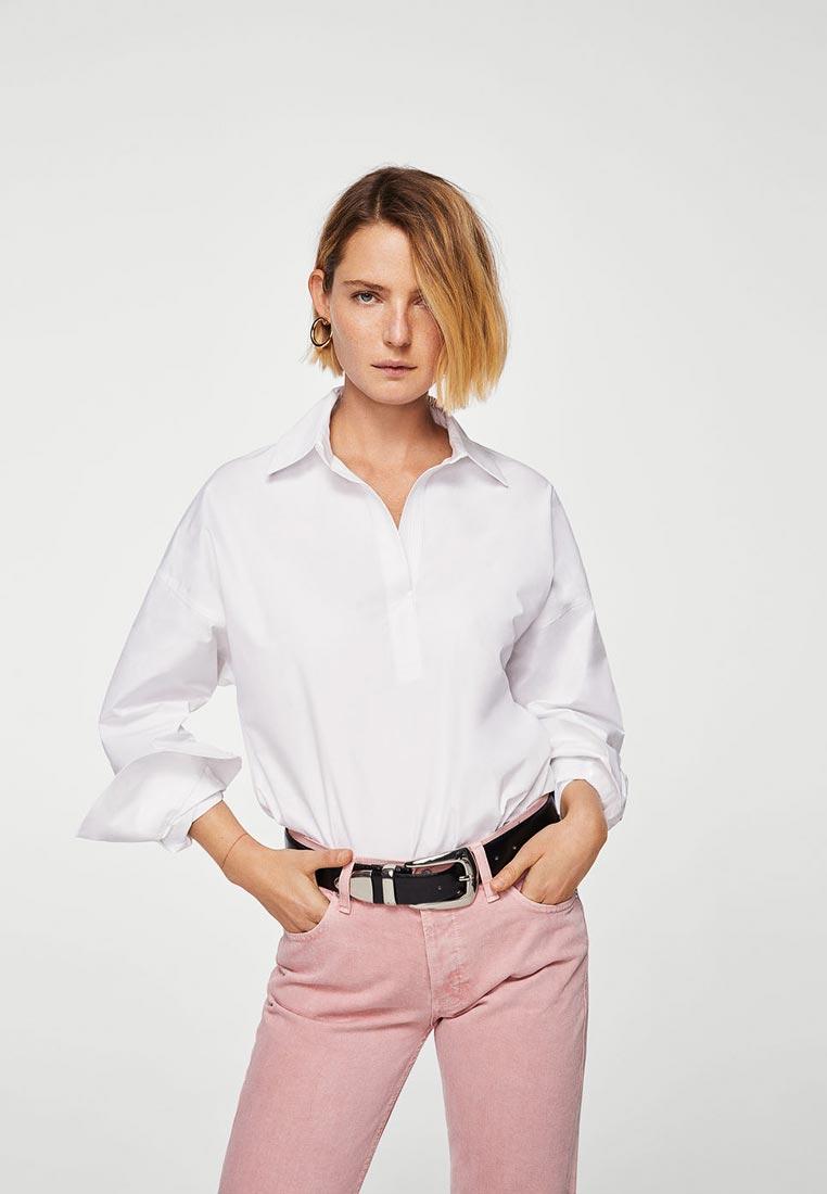 Женские рубашки с длинным рукавом Mango (Манго) 23065632