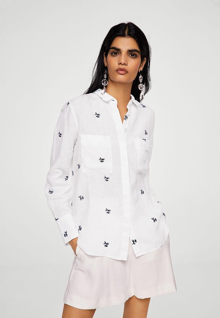 Женские рубашки с длинным рукавом Mango (Манго) 23987624