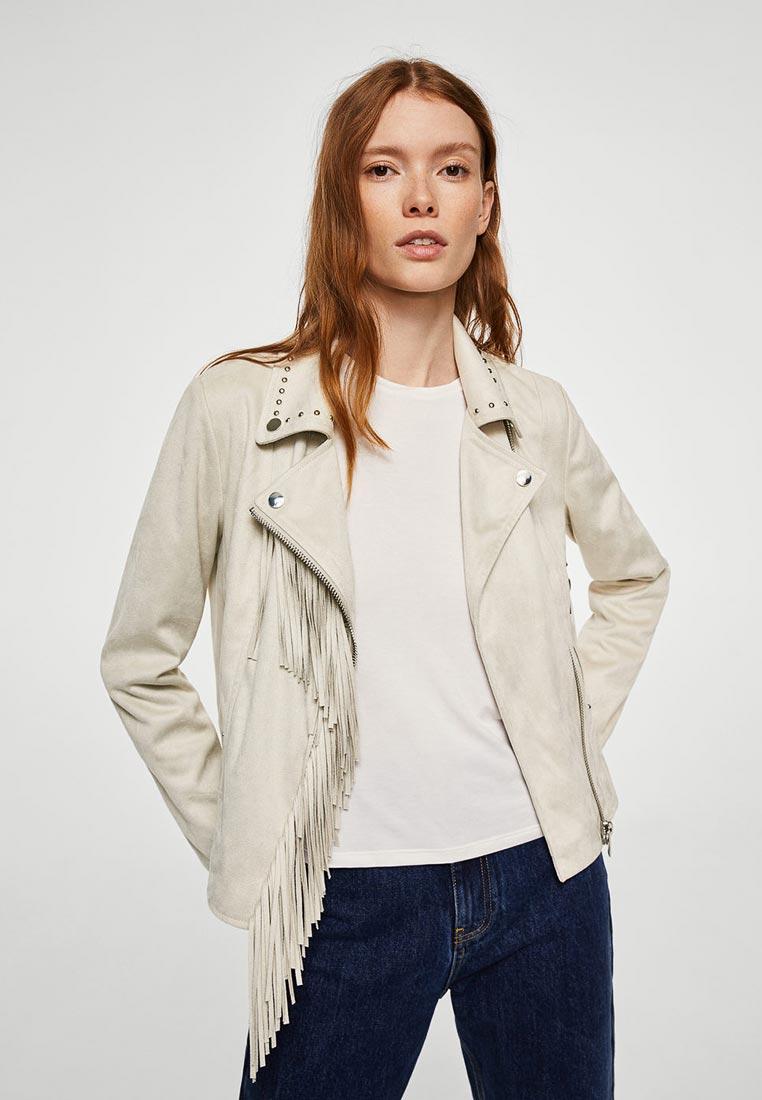 Кожаная куртка Mango (Манго) 23045628