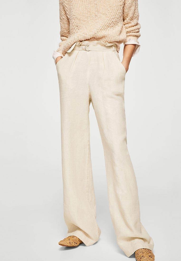 Женские широкие и расклешенные брюки Mango (Манго) 23085631