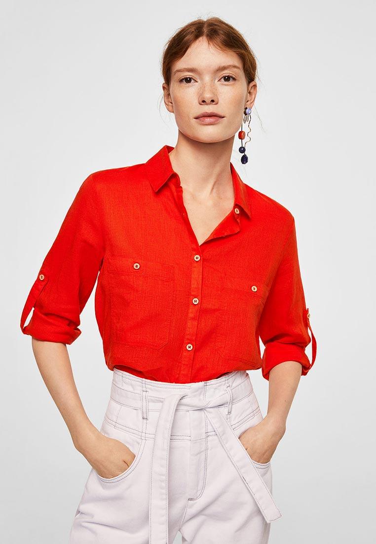 Женские рубашки с длинным рукавом Mango (Манго) 23085641