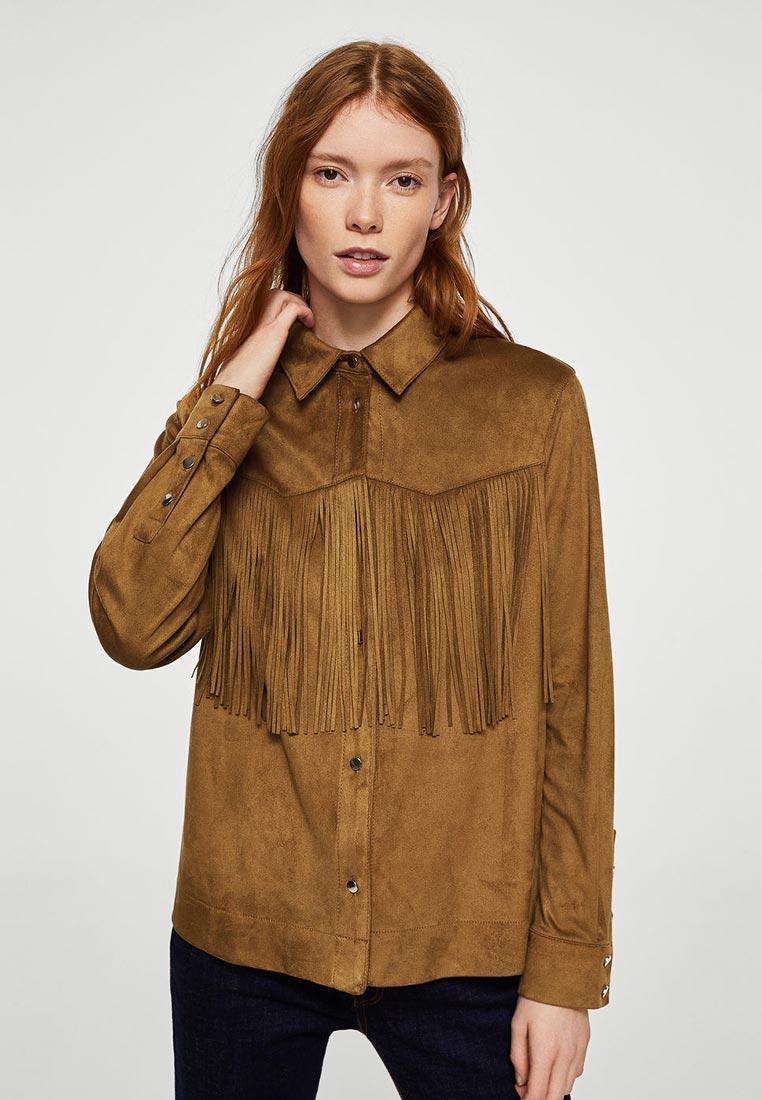 Женские рубашки с длинным рукавом Mango (Манго) 23087008