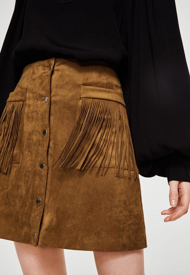 Прямая юбка Mango (Манго) 23097008