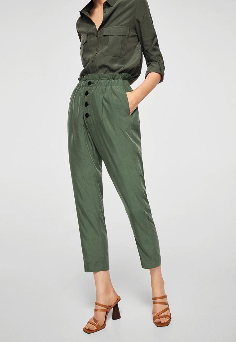 Женские зауженные брюки Mango (Манго) 23095686